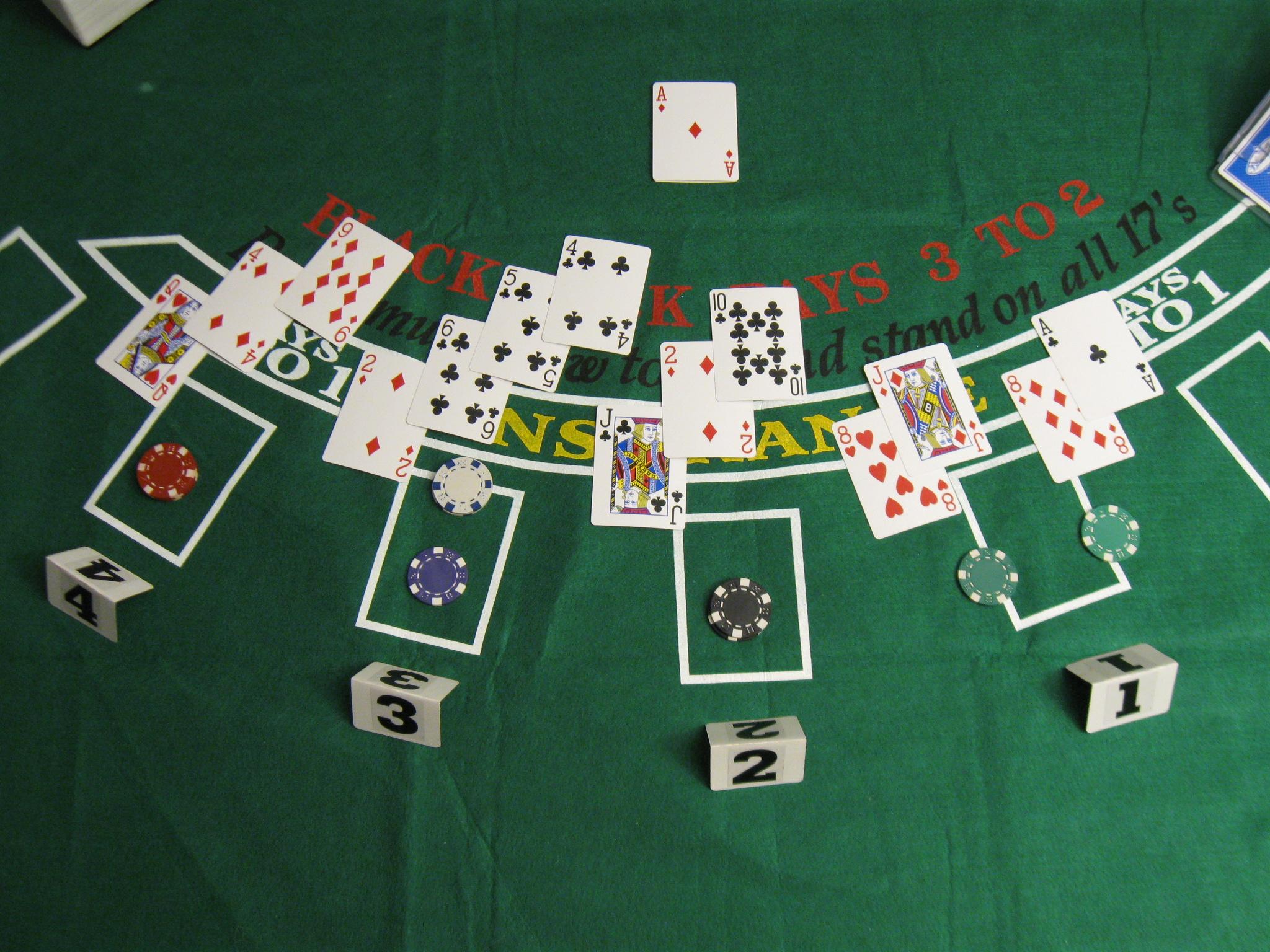 Compter Carte Blackjack.Garder L Avantage Au Blackjack En Comptant Les Cartes